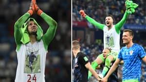 Danijel Subasic Refuses To Take Off T-Shirt Honouring Fallen Friend After FIFA Warning