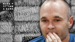 Andres Iniesta Opens Up About His Battle With Depression
