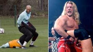 Chris Jericho Responds To West Ham Player's 'Walls Of Jericho' Attempt