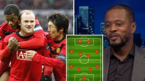 Patrice Evra's Ultimate XI Sees A Lot Of Big Names Miss Out