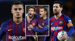 Lionel Messi Has Been Blamed For Philippe Coutinho Failing At Barcelona