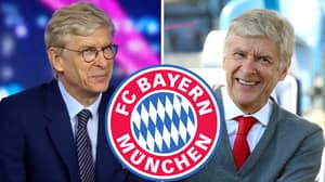Arsene Wenger Responds To Question Asking If He's Interested In Bayern Munich Job