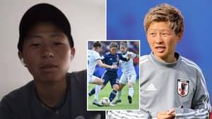 Japan Striker Kumi Yokoyama Has Come Out As A Trans Man In Emotional Video