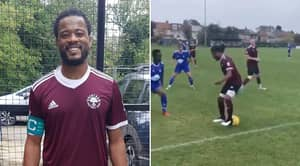 Patrice Evra Caught Playing For Brentham FC - An 11th Tier Team In England