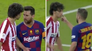 Barcelona Players 'Ganged Up' On Joao Felix After His Heated Confrontation With Lionel Messi