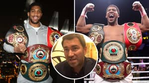 Anthony Joshua Could Be Forced To Vacate One Of His World Titles, Says Eddie Hearn
