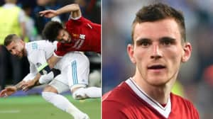Andy Robertson Drops A Truth Bomb About Mohamed Salah And Sergio Ramos Incident