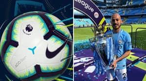 Some Fans Reckon The Premier League 2018/19 Ball In Tribute To David Silva
