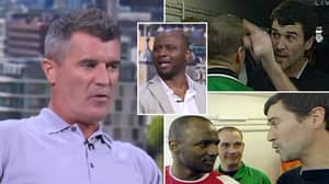 Roy Keane, Patrick Vieira & Gary Neville Break Down Infamous 2005 Tunnel Scrap Live On Air