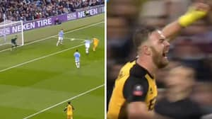 Tom Pope Scores Against John Stones At Manchester City After Tweeting About Him In 2019