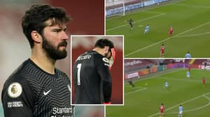 "Alisson Had ""The Worst Game That Anyone Has Seen For Liverpool"" Vs Man City"