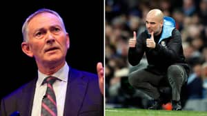 Pep Guardiola Rants Over Two Year Old Richard Scudamore Statement About Manchester City