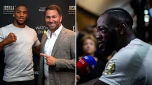 Deontay Wilder Lost All Respect For Anthony Joshua After He Leaked 'Private Messages' To Eddie Hearn