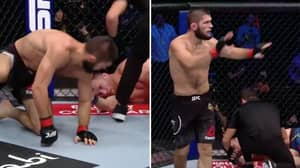 Khabib Nurmagomedov Opens Up About Refusing To Break Justin Gaethje's Arm For The First Time