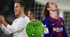 Worst La Liga Signings XI Stars Antoine Griezmann But Not Eden Hazard