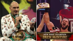 Tyson Fury Responds To Drew McIntyre's Call Out After WWE Star Beats Brock Lesnar At WrestleMania