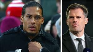 Jamie Carragher Outlines The One Problem Virgil Van Dijk Has At Liverpool