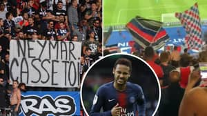 Neymar The Subject Of Abuse From Paris Saint-Germain Ultras Amid Real Madrid And Barcelona Speculation