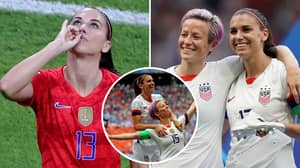 Megan Rapinoe Rips Into England Fans Over Alex Morgan's Tea-Drinking Celebration