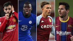 A Team Of 2020's Best Performers Has Been Revealed, Jack Grealish Is Alongside Lionel Messi