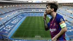 More Proof That The Bernabeu Is Lionel Messi's Training Ground