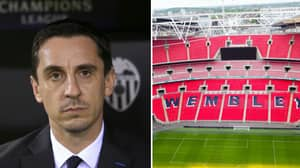Gary Neville Isn't Happy With Potential Sale Of Wembley Stadium