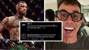Conor McGregor Calls Steve-O A 'Crack Head' After Jackass Star Picks Dustin Poirier To Win Trilogy