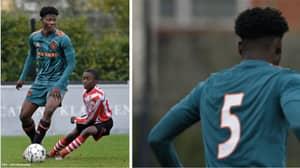 Ajax's 14-Year-Old Defender David Easmon Goes Viral Against Sparta U15's