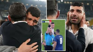 Tearful Mehdi Taremi Was Consoled By Sergio Conceicao At Full Time