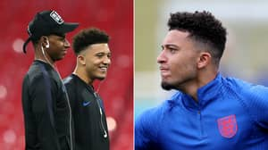Jadon Sancho Has Told 'Several England Teammates' He's Joining Manchester United