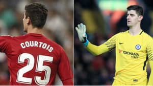 Thibaut Courtois Makes His Real Madrid Debut, Brutally Trolls Chelsea