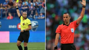 Referee Issues First Green Card At Football Match