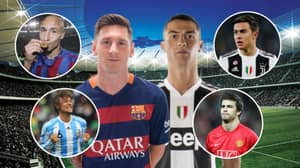 The 12 Lucky Players To Have Played With Cristiano Ronaldo And Lionel Messi
