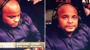 Daniel Cormier's Reaction To Getting Caught On His Phone At UFC 248 Is Pure Comedy Gold