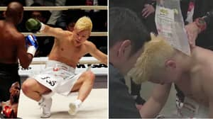 Tenshin Nasukawa In Floods Of Tears After Being Destroyed By Floyd Mayweather