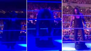 WATCH: The Undertaker Leaves His Legacy In The Ring After Final Match