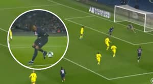 Kylian Mbappe Pulled Off An Audacious Backheel Finish To Score PSG's Opener Against Nantes