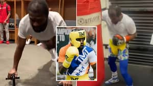 """""""P****d Off"""" Floyd Mayweather Doing Sessions At Midnight And Training For A Fight Ahead Of Logan Paul Exhibition"""