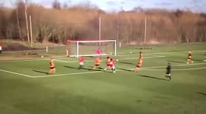 WATCH: Man Utd Prodigy Angel Gomes Scores Another Cracker For Under-18s
