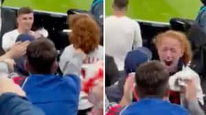 The Heart-Warming Moment Mason Mount Gave His England Shirt To A Young Girl In The Crowd