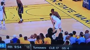 WATCH: Rihanna Bows To LeBron, Dabs And Mugs Off Warriors Fans During NBA Finals