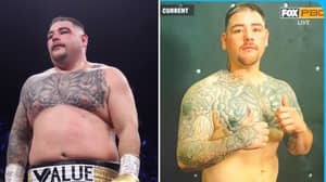 Andy Ruiz Jr Looks In Incredible Shape After Cutting Down To 257lbs For Return Fight