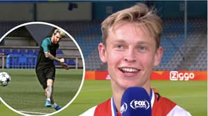 Frenkie De Jong Fantasies About Training With Lionel Messi In Brilliant Interview