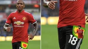 Two Days After Man Utd Beat Liverpool, Ashley Young Is Still Taking The P*ss Out Of Mo Salah
