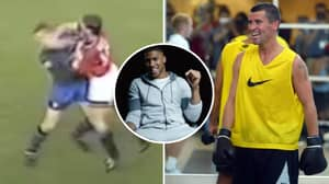Anthony Joshua Picks Roy Keane As Footballer Who Could Make A Great Boxer