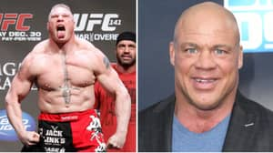 Kurt Angle Names The Only Fight His Close Friend Brock Lesnar Will Return To The UFC For