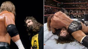Throwback To Cactus Jack Vs Triple H Street Fight At Royal Rumble 2000