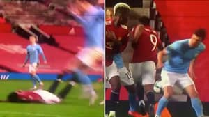 Anthony Martial Slammed By Many For 'Shocking' And 'Shameless' Dive Against Manchester City