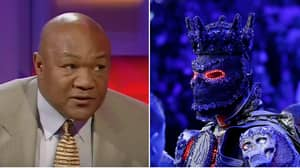 George Foreman Reacts To Deontay Wilder's Costume Excuse
