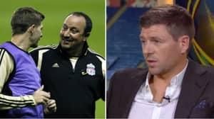 Steven Gerrard Reveals He Made Rafa Benitez Cancel Key Transfer At Liverpool